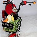 <b></b> Projek vegetable shopping motorbike