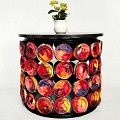 <b></b> Red Cans Coffe Table 62X55 Cm