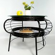 <b></b> Appollo round table / black